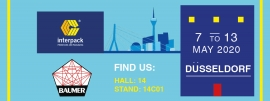 Interpack - Processing & Packaging Exhibition - 7|13 May, Düsseldorf