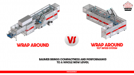 Wrap  Around VS Wrap Around 90 ° ®