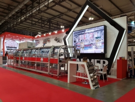 The New Wrap-Around Europea in exhibition @Simei 2019